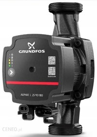 Pompa c.o.GRUNDFOS do 4m ALPHA 1L 25-40 25/40 25/1-4