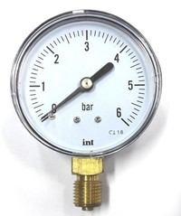 "Manometr 6bar-63mm-1/4"" BOCZNY"